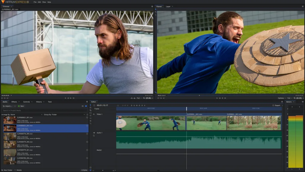 HitFilm Express a video editor for Windows and Mac