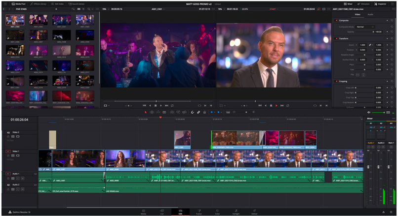 DaVinci Resolve the best video editor for PC