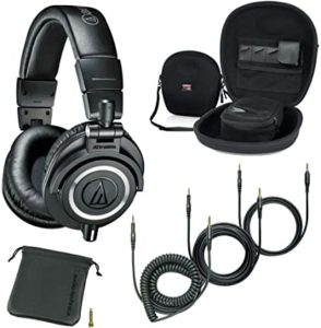 . Audio-Technica ATH-M50x Professional Studio