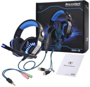 Beexcellent GM-2 Gaming Headset With Mic and Good Bass
