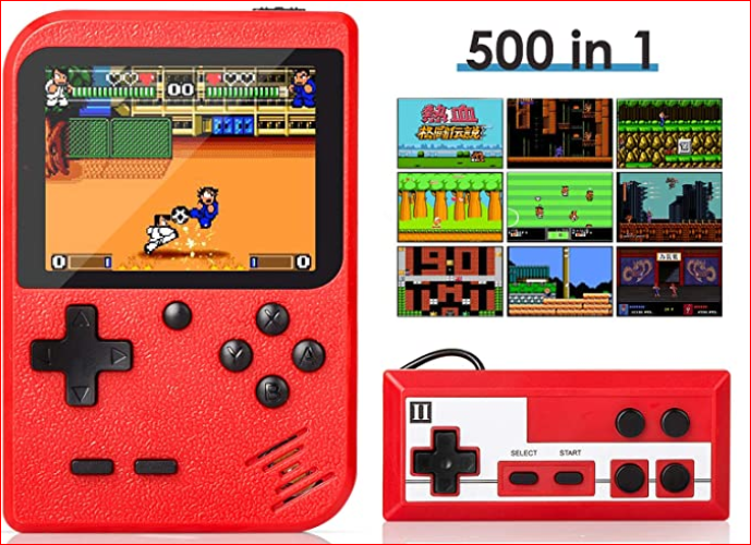 Retro Mini Game Player with 500 Classic FC Games