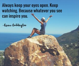"Always keep your eyes open. Keep watching. Because whatever you see can inspire you."" — Grace Coddington"