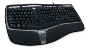 Microsoft Natural Ergonomic Wired Keyboard 4000 for Business