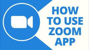 how use zoom app