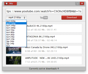Airy YouTube HD Downloader