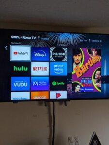 Onn 50-inch 4K Roku Smart TV features