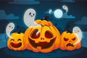 Cute Halloween Background 5