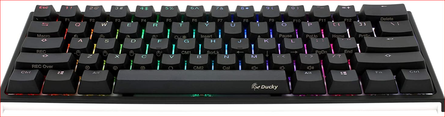Ducky One 2 Mini RGB LED Double Shot PBT Mechanical Keyboard