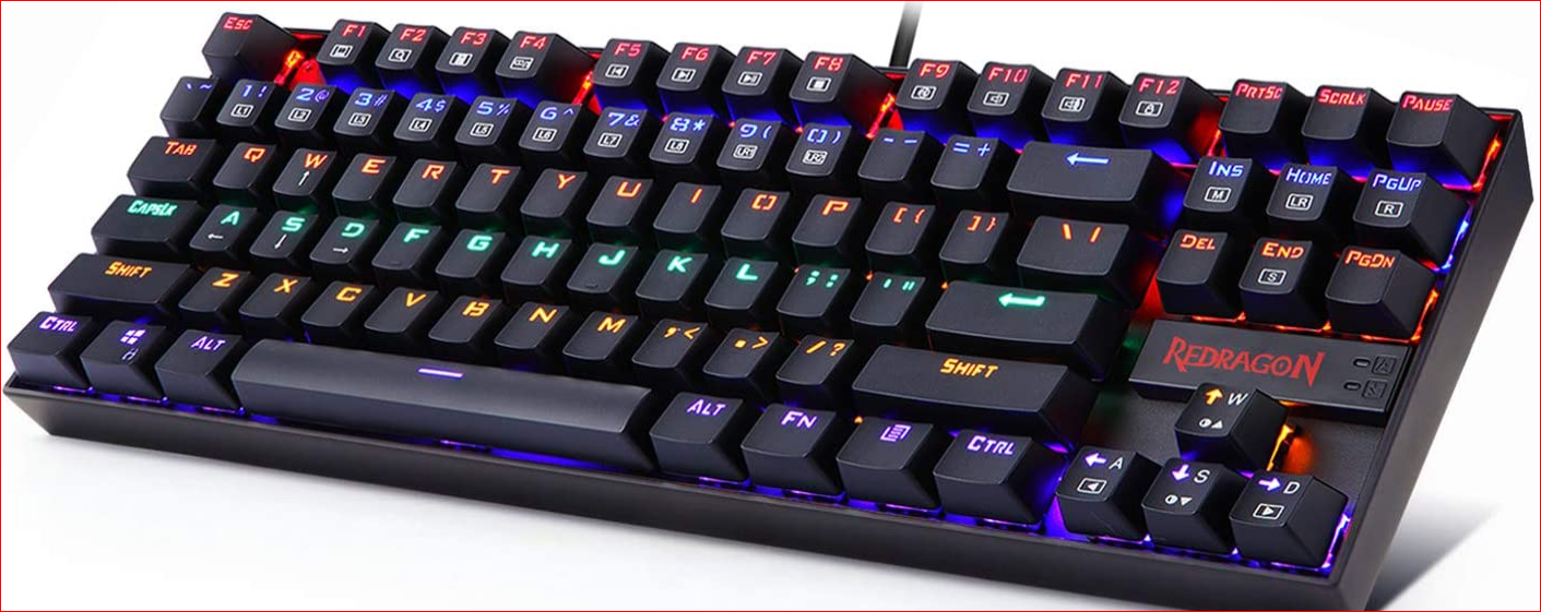 Redragon K552 Mechanical Gaming Keyboard RGB LED