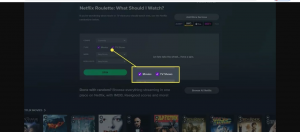 Check or uncheck the TV Shows checkbox and the Movies checkbox