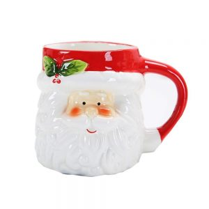 Christmas Porcelain Coffee Cup with Animal Model (HDP-4509)