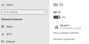 Check Your Wi-Fi Settings
