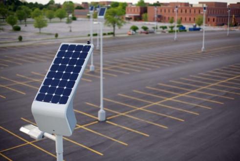 LED Solar Parking
